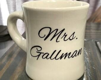Custom Hand-Painted Mug