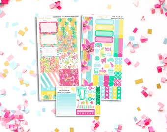 FINAL SALE State Of Mind Personal Weekly Kit - stickers to fit Filofax, Kikki K and more!