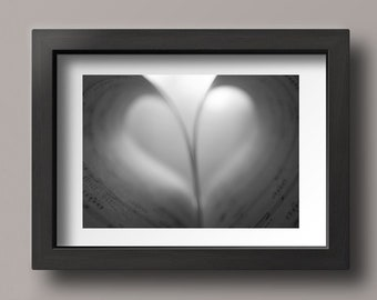 Music Art, Black and White Photography, Monochromatic Art, Gift for Music Lover, Music Photography, Black and White Art, Music Photography
