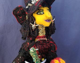 Theodora the Glamorous - Wicked Witch of the West.