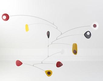 Modern Hanging Mobile, Mid Century, Retro Mobile, Calder Style, Retro Mobile, Calder Style, Hanging Mobile, Modern Home