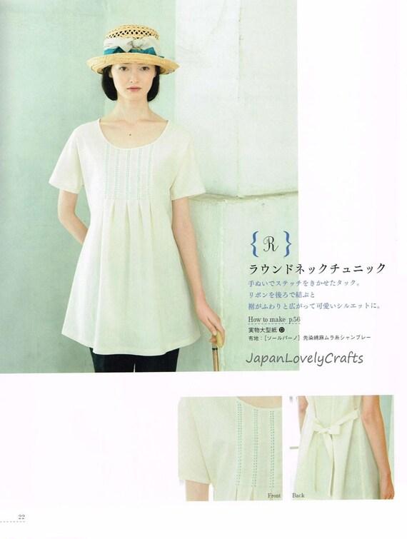 Hand genäht klassisches Kleid Muster japanische Nähen