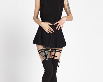Coraline Over The Knee Highs