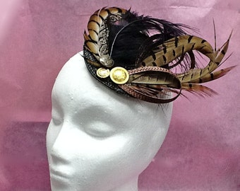 Kate Middleton Fascinator - pheasant feathers fascinator hat CARMELLA KATE