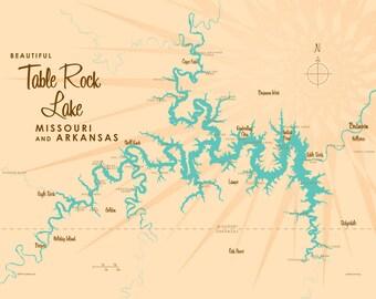Table rock lake Etsy