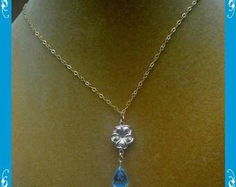 Blue Topaz necklace 02