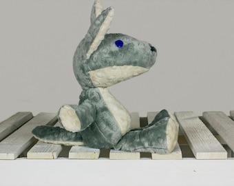 Stuffed Wolf, Woodland Stuffed Animals, Wolf toy, Plush Wolf, Mascot Wolf, Cuddly toy Wolf, Handmade plush toy, soft toy Wolf | Nuva