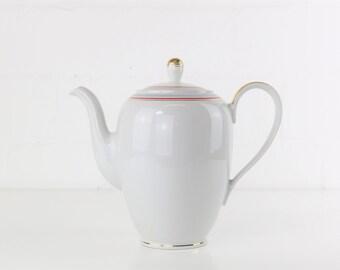 Weiße Teekanne teekanne etsy