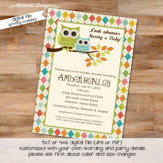 he or she gender reveal invitation surprise gender reveal owl baby shower with love diaper wipe brunch baby sprinkle gay 144 Katiedid Cards