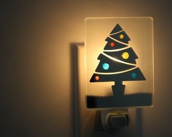 christmas tree night light arbre de noel