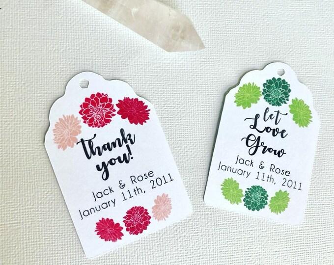 Let Love Grow Succulent/Floral Colors, succulent wedding favors, plant wedding favors, presents, party favors, succulent present, green