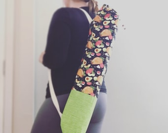 Yoga Mat Bag - Taco Party