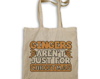Gingers Aren'T Just Christmas Tote bag r624r