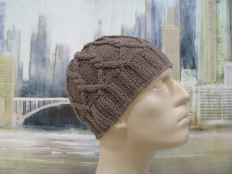Men\'s Hat Pattern \'Kyle\' Men\'s Knitted Hat