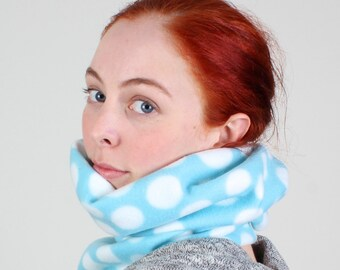 Blue ear warmer, Blue neck warmer, Christmas scarf gift, Cheap scarfs, Hanukkah scarf gift,Blue winter scarf, Blue scarf, Holiday scarf gift