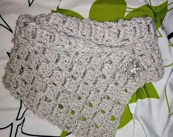 Crochet Margaret Cowl Scarfs