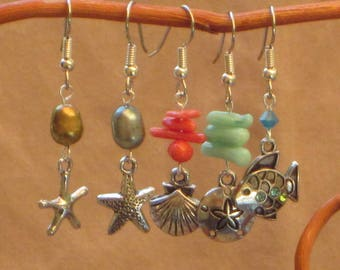 Beachy Keen Dangle Earrings
