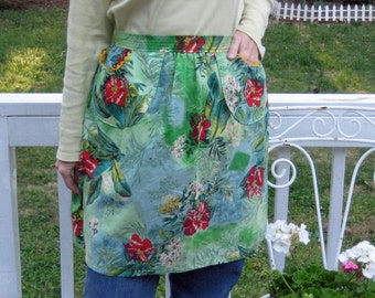 Tropical Garden Apron