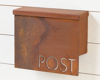 The Gibson Mailbox - Classic - Steel Modern Metal Letter Box