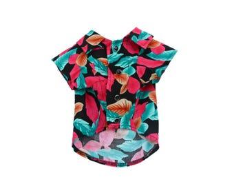 Dog Clothes The Summer Nights Shirt | Hawaiian Dog Shirt | Dog Shirt | Dog Apparel | Dog Shirts for Dogs | Pet Clothing