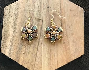 Celtic Gold Earrings