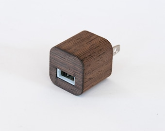 Wenge Skin for iPhone Charger - Compatible with iPhone 6, iPhone 6S, iPhone 5 / 5S, iPad & More!