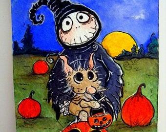 Halloween Grimmy Reaper 5 par 7 tirages que vous choisissez