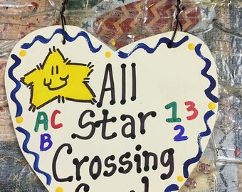Crossing Guard Teacher Gifts  All Star Crossing Guard Handmade