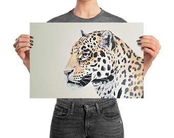 leopard wall art, leopard print, leopard, leopard wall decor, leopard poster, leopard art, big cat print, big cat wall art, leopard decor