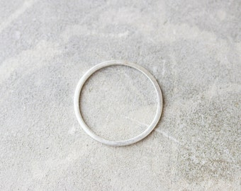 Simple stacking ring - Sterling silver stackable