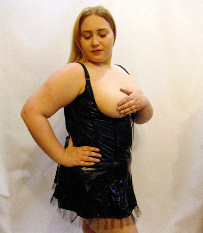 Sexy chubby women in lingerie-2626