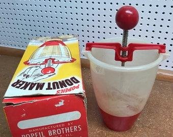 Vintage Popeil's Donut Maker in Box