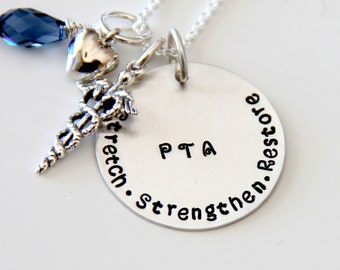 Physical Therapists Necklace - Physical Therapists Gift -  Physical Therapist Graduation Gifts-  PTA  - Physical Therapists Assistant Gift