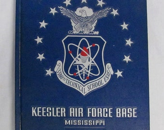 USAF 3380th Technical School Keesler Air Force Base Mississippi Memorial Book