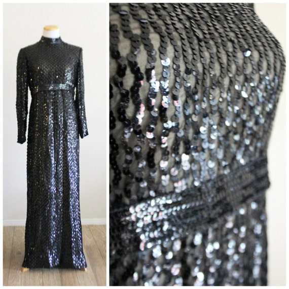 Maxi Free Starlet GRAS RARE Showgirl Dress York Marilyn Couture Sequin Hollywood Carpet New MARDI Silk Shipping Vintage Label 50's Red 60's rXpqr7xF