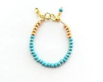 Baby Bracelet, Personalized Baby Bracelet, Baby Gifts, Little Girl Bracelet, Personalized Girl Gift, New Baby Gift, Blue Nile