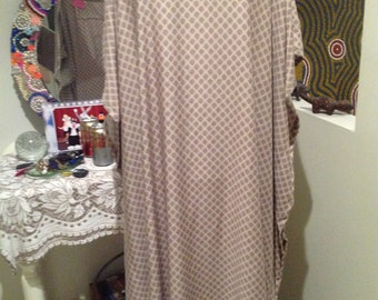 TAUPE/Caftan/dress/kaftan/ Long dress/ Plus size dress/size AU 14-24/Plus size clothing/ oversized dress/ Casual dress/Party dress