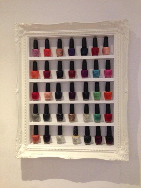 esmalte de uñas del estante francés barroco de rack de
