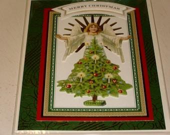Merry Christmas Angel Card