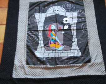 """Tim Burtons the Nightmare Before Christmas blanket - adult size-Perfect for all ages! 60""""w X72""""L ready to ship!"""