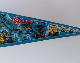 The Bahamas - Vintage Pennant