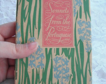 Sonnets From the Portuguese Elizabeth Barrett Browning Vintage Gift Book Peter Pauper Press