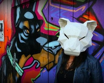 Tiger Paper Mask