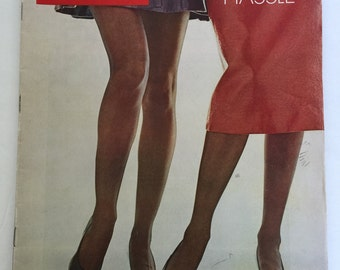 LIFE Magazine-The Great Hemline Hassle-March 13, 1970-1970s Fashion-Vintage Magazine