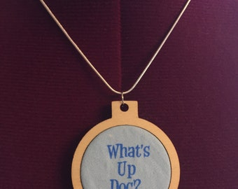 What's up Doc? Bugs Bunny Pendant Necklace - Handmade