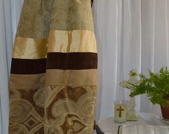 Men's Prayer Shawl ~ Shades of Brown & Tan