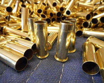 38 Special Once Fired Brass 300 + Pieces, Cleaned and polished Perfect for Jewelry and Crafts.  Supplies, Crafting, Steampunk, DIY