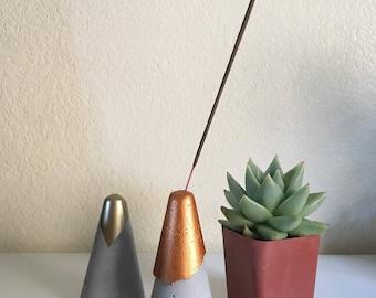 Layered Cone Incense Burner, incense stick holder