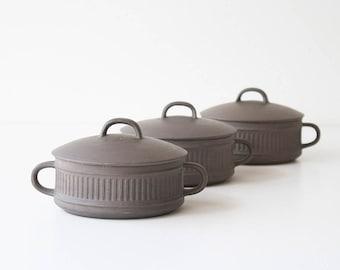 Vintage Danish Modern Dansk Flamestone Covered Casserole Dishes & Danish tableware | Etsy