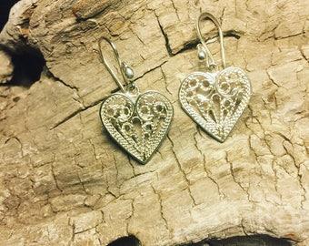 Pure Love Heart Earrings